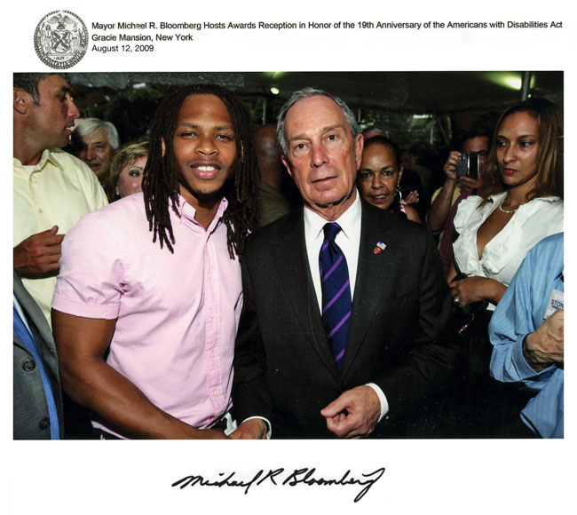 AnDre Christie Mayor MRBloomberg 2009