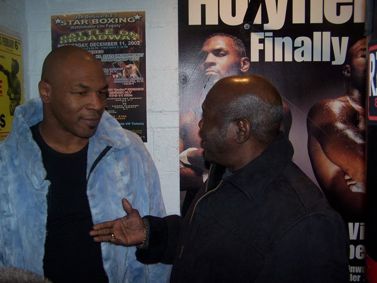 Emile Griffith 2008 Mike-Tyson