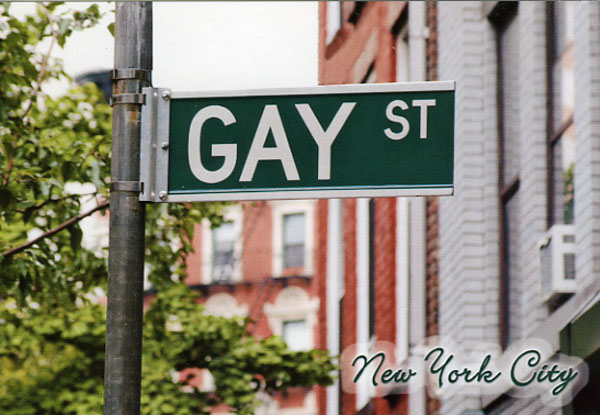 """Gay Street"" sign"