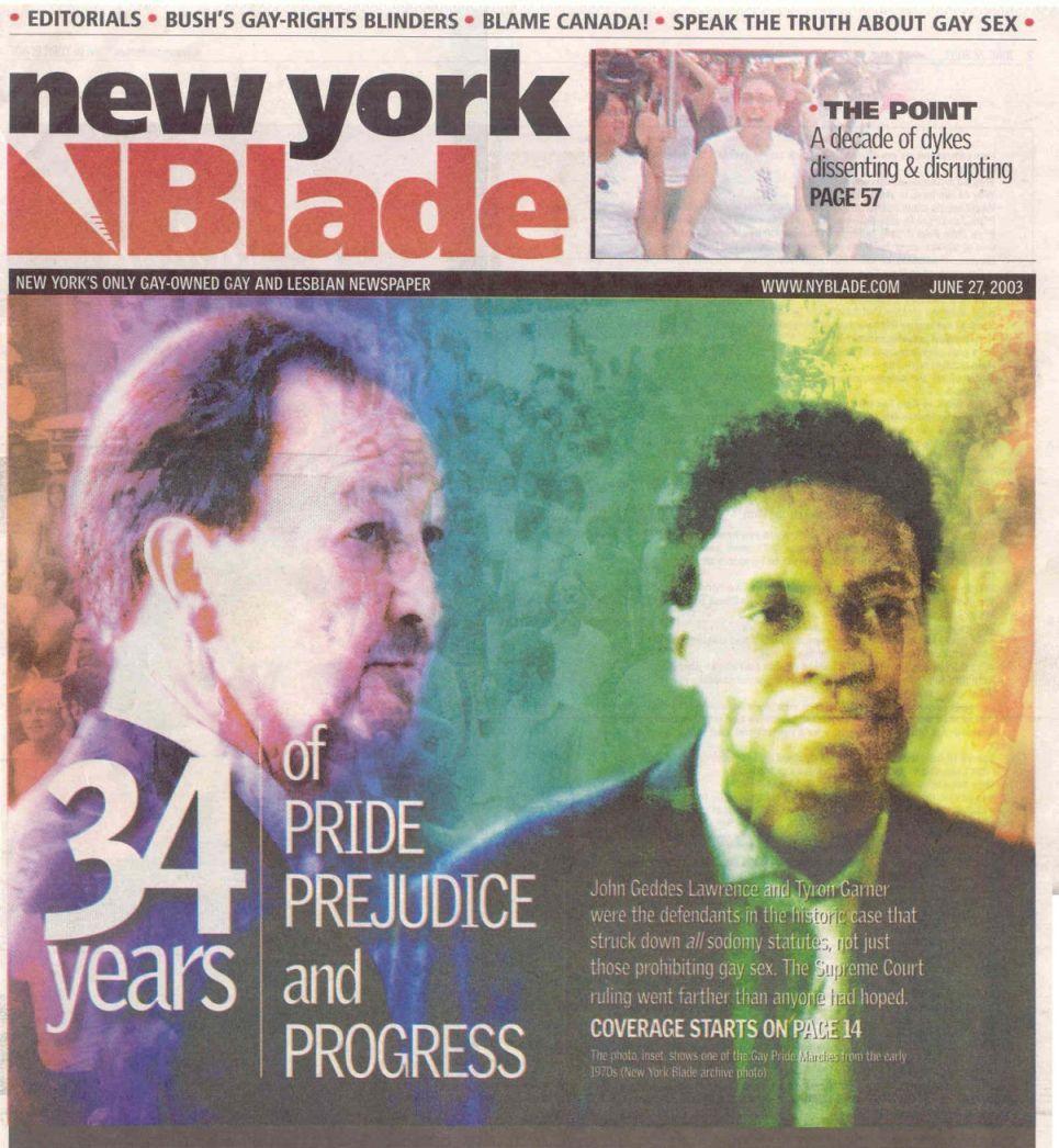 Gay Publications Nyc