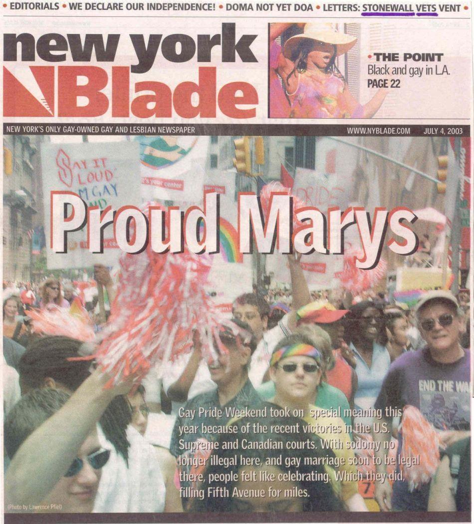 new york gay newspaper