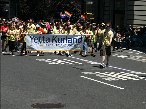 Yetta Kurland Gay Parade