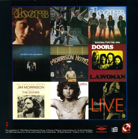 Absolute collection of The Doors\\\\u0027 record album covers