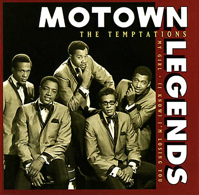 The Temptations CD Cover