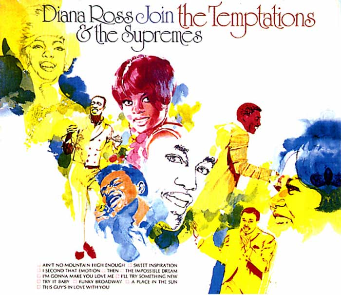 Diana Ross - Supremes Join The Temptations