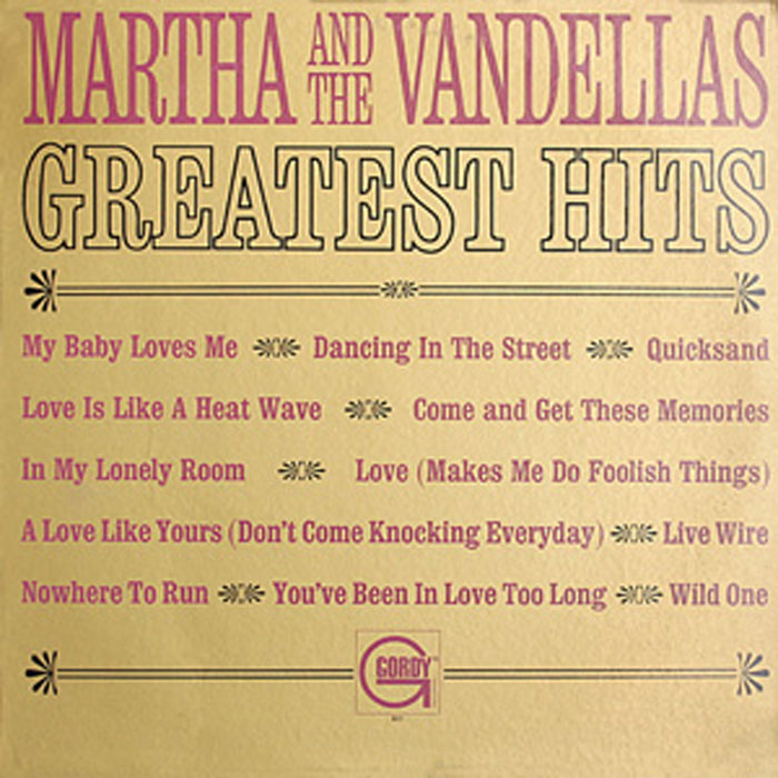 Martha Reeves Vandellas Greatest Hits