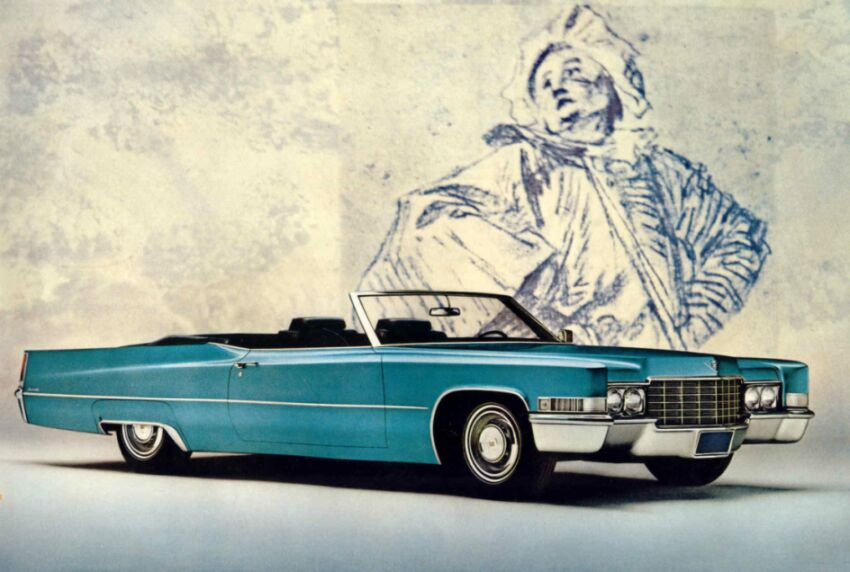 General Motors Cadillac Catalog: 1969 Cadillac DeVille Convertible