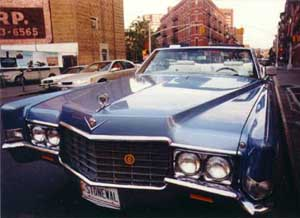 1969 Stonewall Car  on Greenwich Avenue in Manhattan, New York