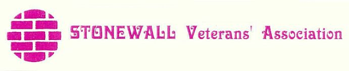 Stonewall Veteran's Association Logo Banner