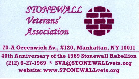 SVA business card