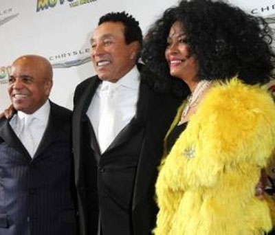 Berry Gordy Smokey Diana Ross