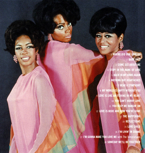 Diana Ross Supremes Definitve backcover