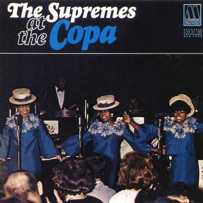 Diana Ross And The Supremes At The The Copacabana