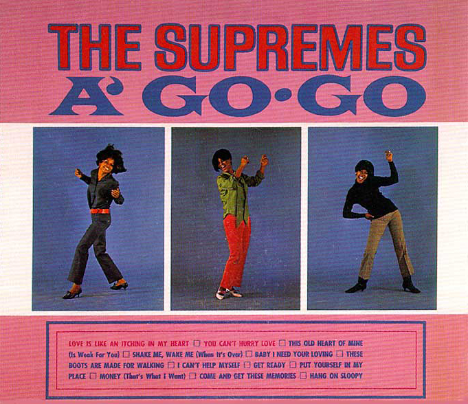 The Supremes A Go-Go